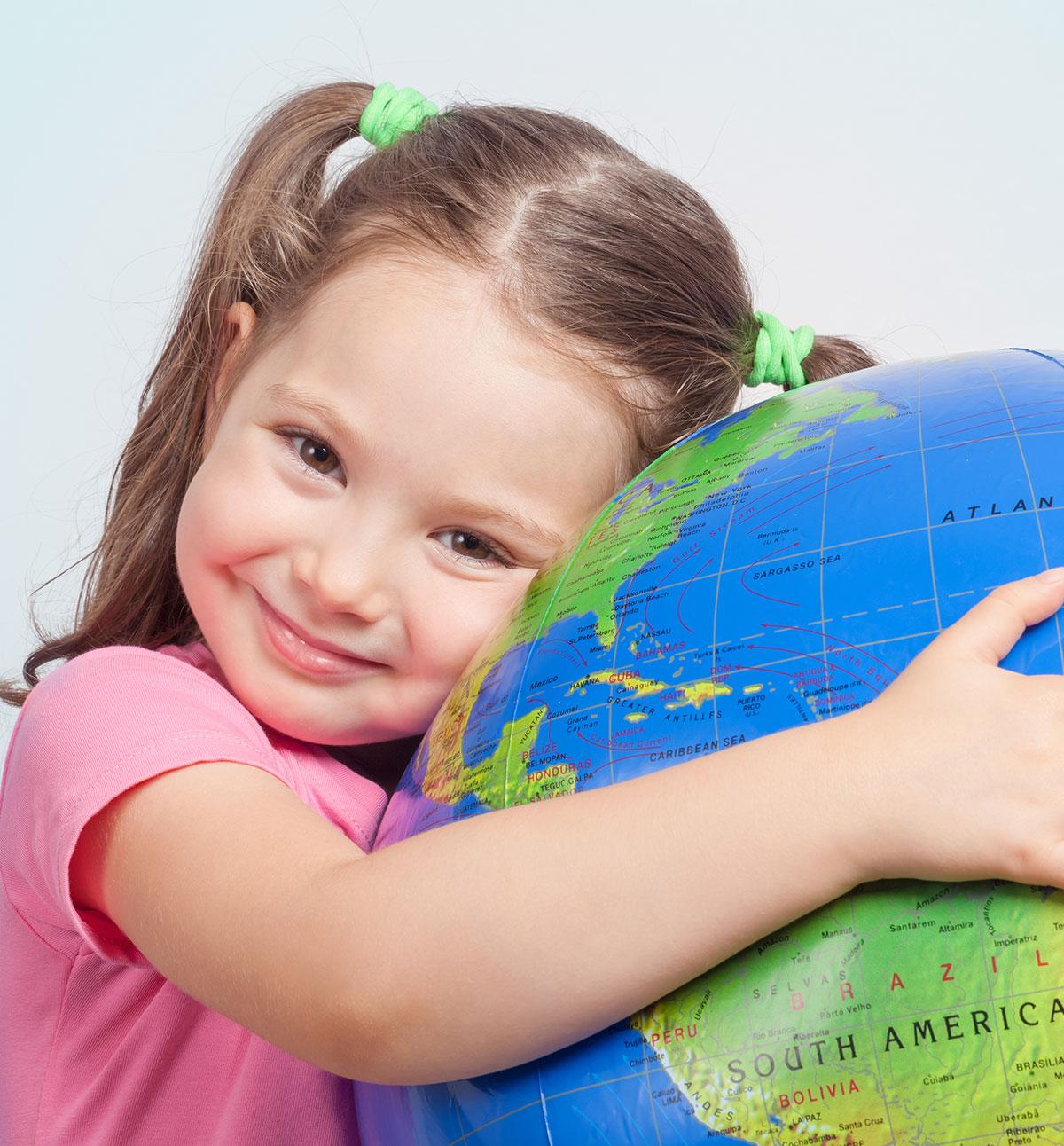B4School FUN - Alphabet Adventure - E is for Earth